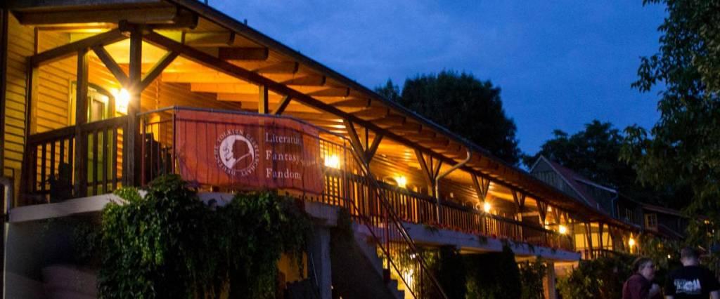 Abendstimmung auf dem Rittergut