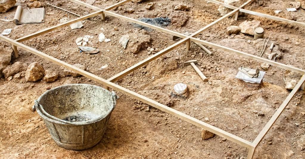 Ausgrabung in Mittelerde