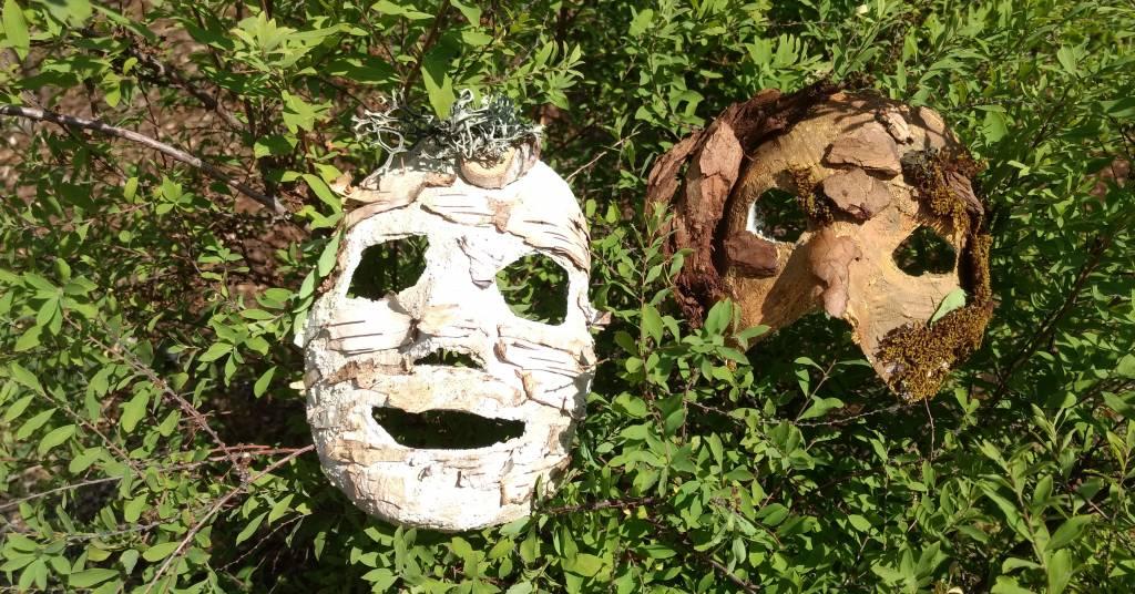 Ent-Masken basteln